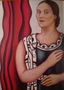 Надя Леже. Автопортрет